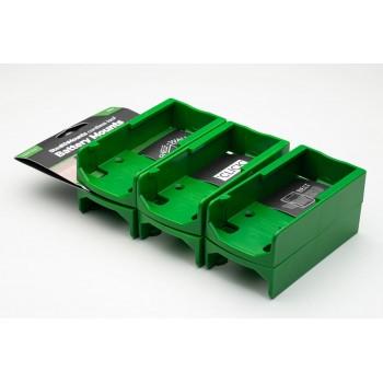 Battery mounts for Festool 18v 6-pack, StealthMounts