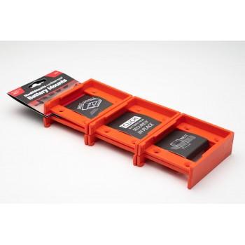 Battery mounts for Hilti 22v 6-pack, StealthMounts