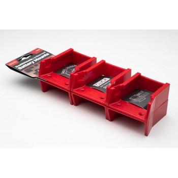 Battery mounts for Milwaukee 18v 6-pack, StealthMounts