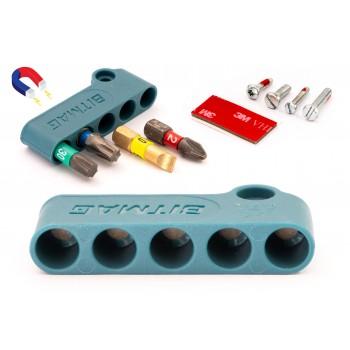 BITMAG™ - magnetischer bithalter, kunststoff-kompositkörper Blau