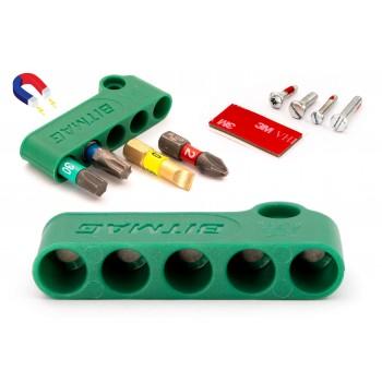 BITMAG™ - magnetischer bithalter, kunststoff-kompositkörper Grün